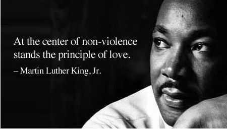 violence or nonviolence in opinion of martin luther king