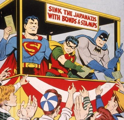 Batman-and-Superman-sell-war-bonds